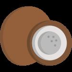Kokosnuss mit Selen