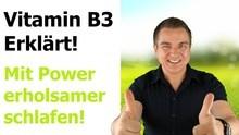 Vitamin B3 Mangel und Wirkung von Niacin